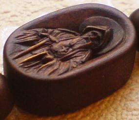 Иконка к крестику. Преподобный Амвросий Оптинский