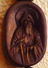 Образок к нательному крестику. Преподобный Амвросий Оптинский