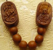 Образки к нательному крестику БОГОРОДИЦЫ ДОНСКАЯ и Георгия Победоносца