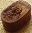 Иконка Божией Матери Донская, к нательному крестику
