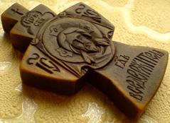 Резной крест. Спас