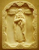 Резьба по дереву. Икона Святой равноапостольный великий князь Владимир Киевский