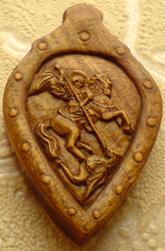 Медальон. Cв. вмч. Георгий Победоносец