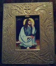 Резьба по дереву. Православная икона. Киот из цельного дерева