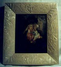 Резьба по дереву. Православная икона. Киот.