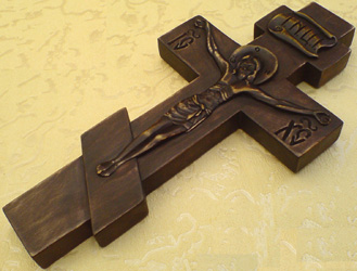 Как сделать православный крест из