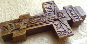 Резной крестик