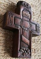 Деревянный крестик. Архангел Михаила, Архангел Гавриил. Ангел Хранитель