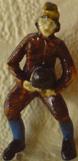 Резная миниатюра матроса.
