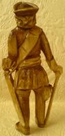 Резная фигурка Петра Великого
